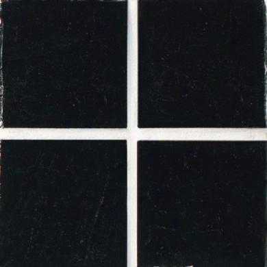 Daltile Venetian Glass Mosaics 3/4 X 3/4 Black Tile & Stone