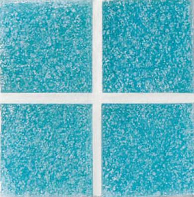 Daltile Venetian Glass Mosaics 2 X 2 Aqua Blue Tile & Stone