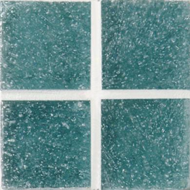 Daltile Venetian Glass Mosaics 3/4 X 3/4 Ixtapa Blue Tile & Stone