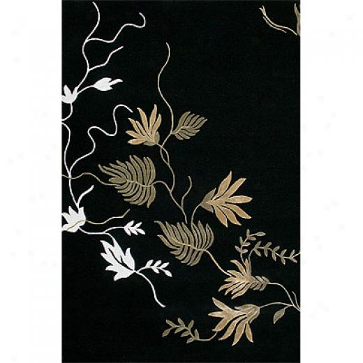 Delos, Inc. Delos Styles 3 X 5 Colonial Midnight Area Rugs