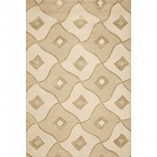 Delos, Inc. Delos Styles 5 X 8 Reflection Pebble Area Rugs
