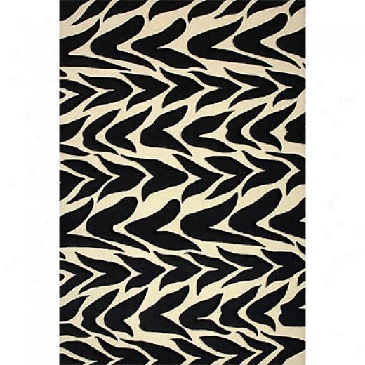 Delos, Inc. Delos Styles 8 X 11 Retro Zebra Area Rugs
