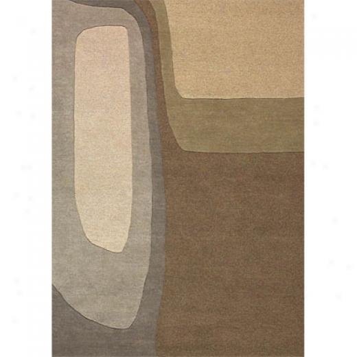 Delos, Inc. Estella 8 X 11 Lava Area Rugs