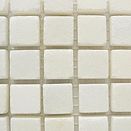 Brilliant Tech Glass Marble Series Polished Mosaic China White Tile & Sone