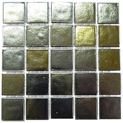 Diamond Tech Glass Platinum Mosaic Series Gold & Silver Tile & Stoje