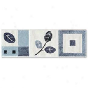 Dune Emphasis Ceramic Borders Professional 3 1/4 X10 Canada Azul Tile & Stone