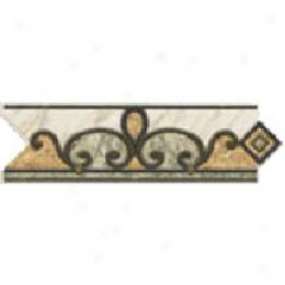 Dune Emphasis Ceramic Borders Wall 3 1/8x10 Arabia Beige Tile & Stone