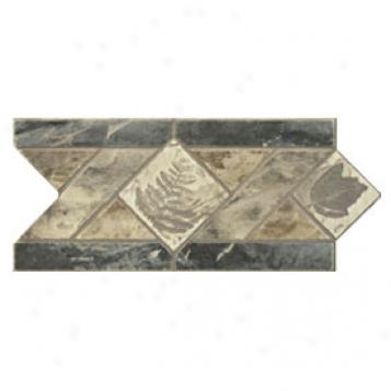 Dune Emphasis Ceramic Borders Flpor 6x12 Lithos Gris Tile & Stone
