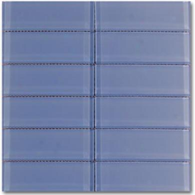 Dune Emphaais Glass Mosaics Vitra Bleu2x6 Tile & Stone