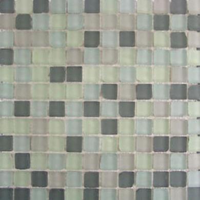 Dune Empbasis Glass Mosaics Vitra Rustic Mix Gris Tile & Stone