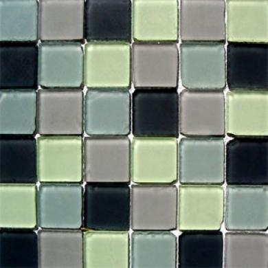 Dune Emphasis Glass Mosaics Vitra Rustic Mix 2x2 Tile & Stone