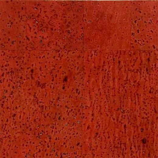 Duro Design Baltico Cork Tiles 12 X 12 Scarlet Red Cork Flooring