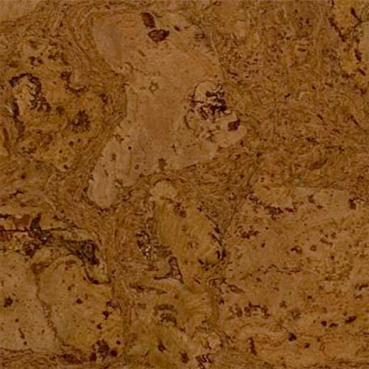 Duro Design Cleopatra Cork Tiles 12 X 12 Leather Brown Cork Flooring