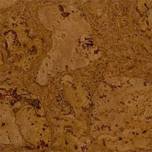 Duro Design Cleopatra Cork Tiles 12 X 12 Leather Brown Cork Flooring