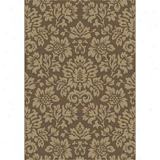 Dynamic Rugs Eclipse 5 X 8 Brown Area Rugs
