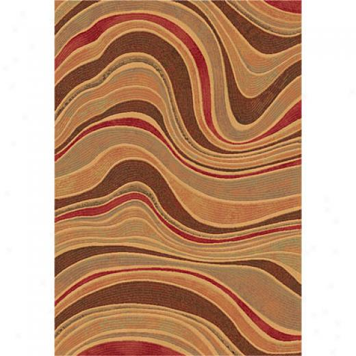 Dynamic Rugs Eclipse 7 X 10 Spice Area Rugs