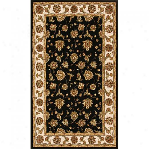 Dynamic Rugs Jewel 8 X 11 Black Beige Area Rugq