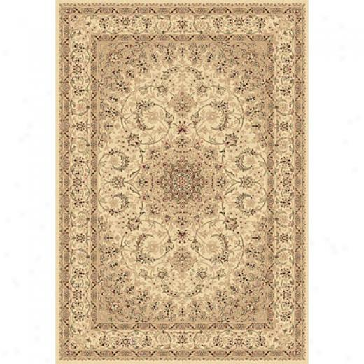Dynamic Rugs Legacy 2 X 4 Ivory Area Rugs