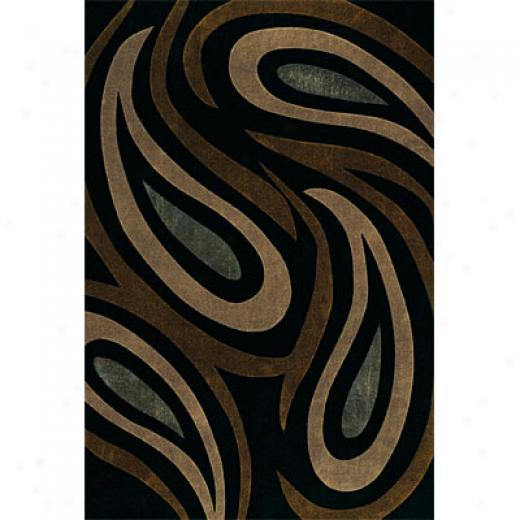 Dynamic Rugs Mystique 8 X 11 Blue Area Rugs