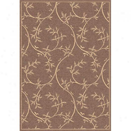Dynamic Rugs Piazza 4 X 6 Brown Area Rugs
