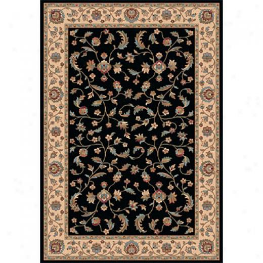 Dynamic Rugs Radiance 9 X 13 Black Area Rugs