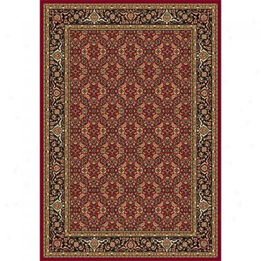 Dynamic Rugs Shiraz 2 X 3 Red Area Rugs