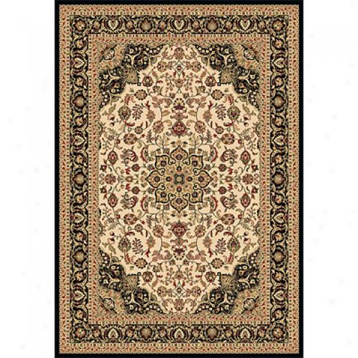 Dynamic Rugs Shiraz 2 X 3 Ivory Black Area Rugs