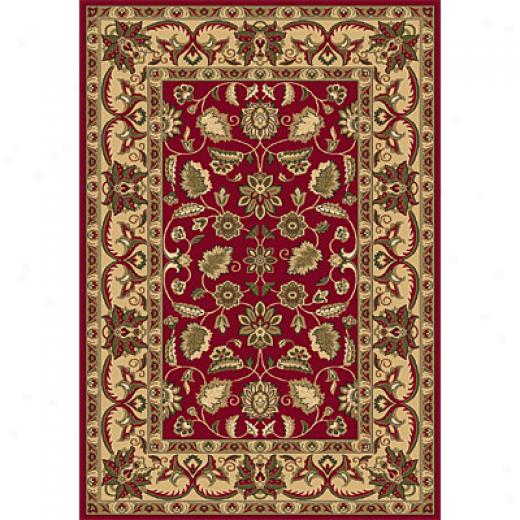 Dynamic Rugs Shiraz 5 X 8 Ivory Black Area Rugs