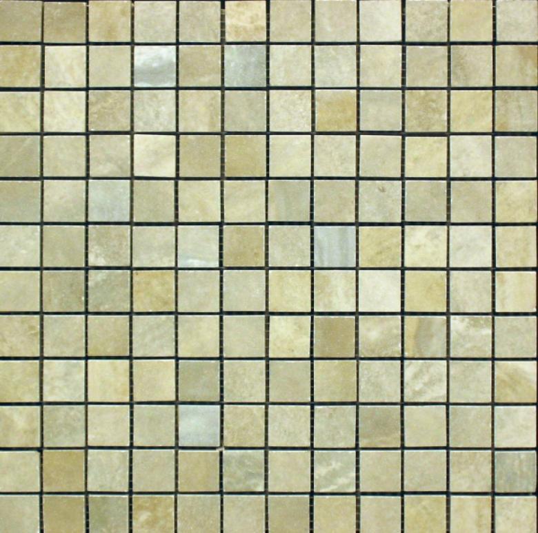 Edilcuoghi Ceramiche Easy Marble Mosaic 1 X 1 Green Tile & Stone