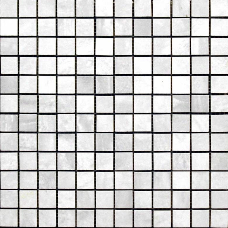 Edilcuoghi Ceramiche Easy Marble Mosaic 1 X 1 White Tile & Stone