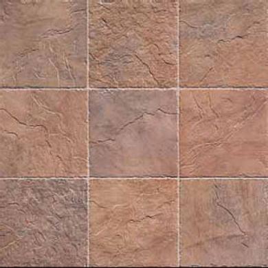 Edilcuoghi Ceramiche Rocks Mosaic Red Tile & Stone
