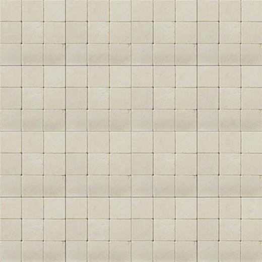 Emser Tile Antique & Tumbled Stone Mosaic 1 X 1 Square Marble Ancient Tumbled Crema Marfil Tile & Stone