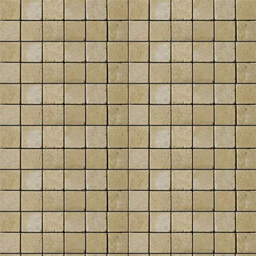 Emser Tile Antique & Tumbled Stone Mosaic 1 X 1 Square Trav Ancient Tumbled Beige Tile & Stone