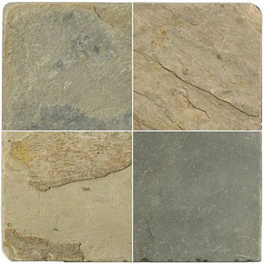Emser Tile Antique & Tumbled Stone 6 X 6 Slate Tumbled Autumn Lilac Tile & Stone