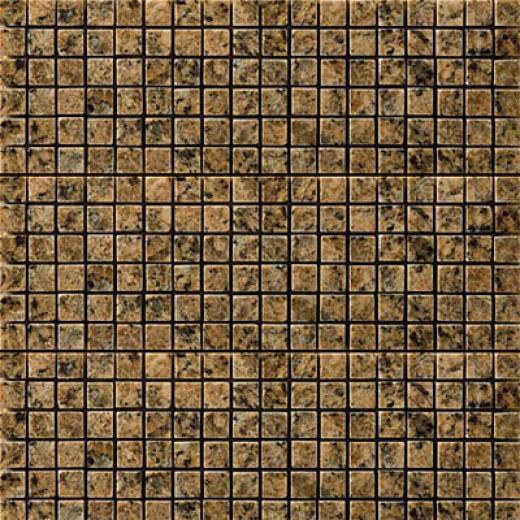 Emser Tile Granite Mosaic Giallo Veneziano Mosaic Tile & Stone