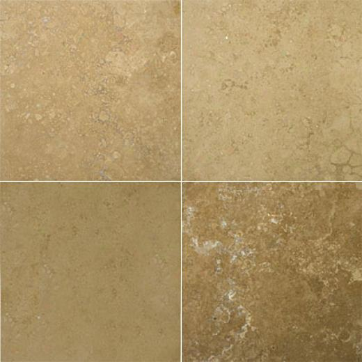 Emaer Tile Travertine Crosscut 24 X 24 Noce Classic Tile & Stone