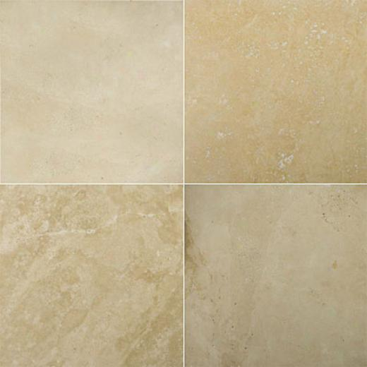 Emser Tile Travertine Crosscut 24 X 24 Ivory Classic Premium Tile & Stone