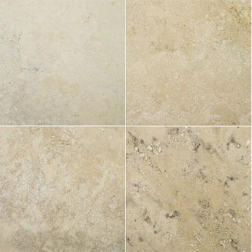 Emser Tile Travertine Crosscut 18 X 18 Yurak Beige Tile & Stone