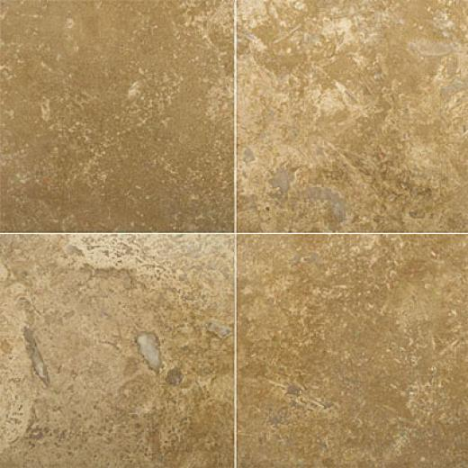 Emser Tile Travertine Crossuct 18 X 18 Umbria Noche Tile & Stone