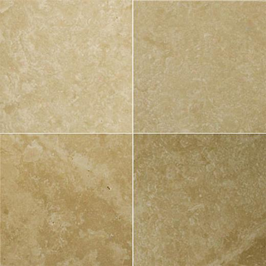 Emser Tle Travertine Filled & Polished 18 X 18 Astoria Mocha Tile & Stone