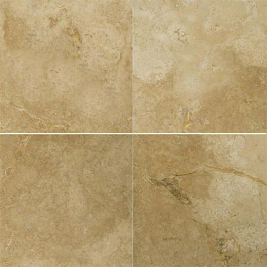 Emser Tile Travertine Unfilled & Honed 18 X 18 Ivory Classic Antique Tile & Stone