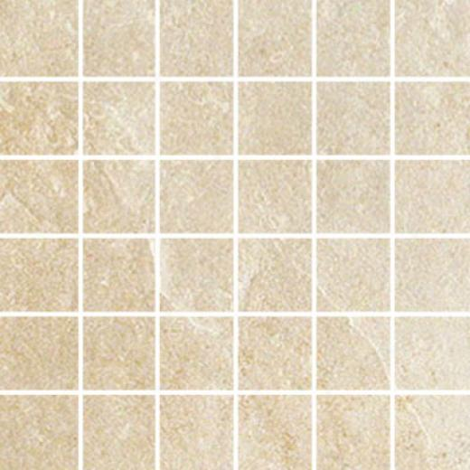 Ergon Tile Green Tech Mosaic Rectifid Ivory Tile & Stone