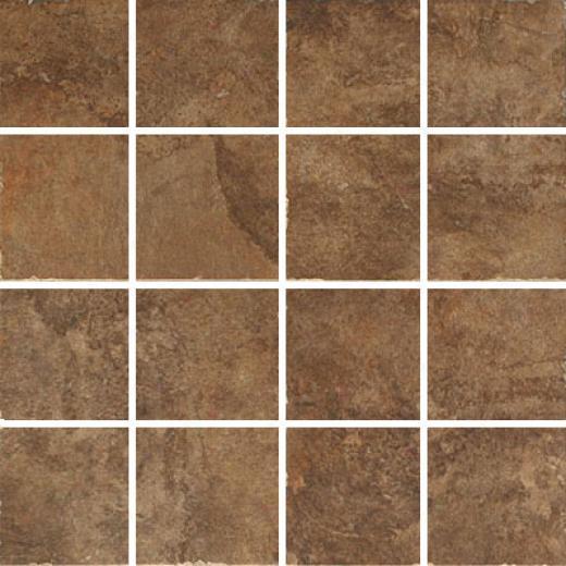 Esquire Tile Cumberland Plateau Mosaic Walnut Tile & Stone