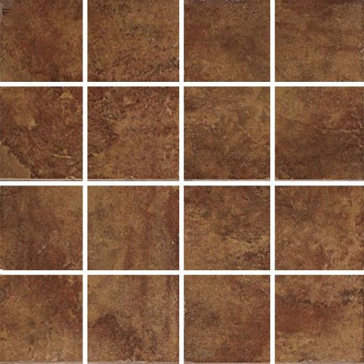 Esquire Tile Cumberland Plateau Mosaic Rust Tile & Face with ~