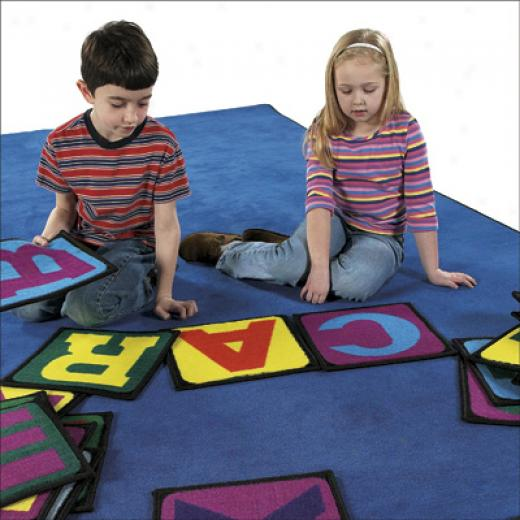Flagship Carpets Building Blocks 1 X 1 Building Blocks Area Rugs