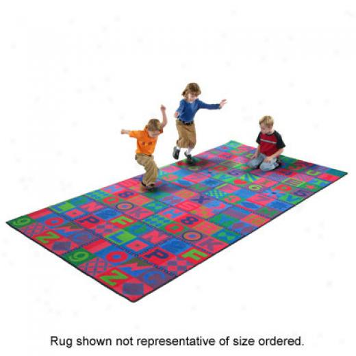 Flagship Carpets Floors That Teach 1 2X 18 Floors That Teach Blue Area Rugs
