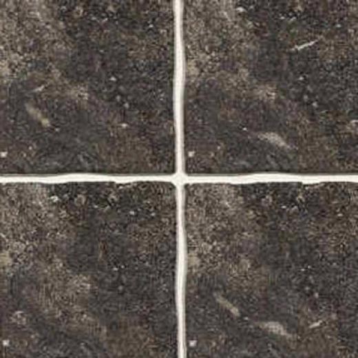 Florida Tile Ankara 16 X 16 Black Tile & Stone
