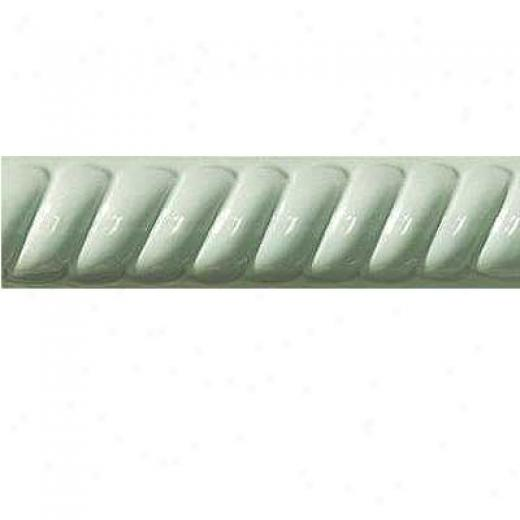 Florida Tile Artsy Rope Decoratives Spring Green Tile & Stone
