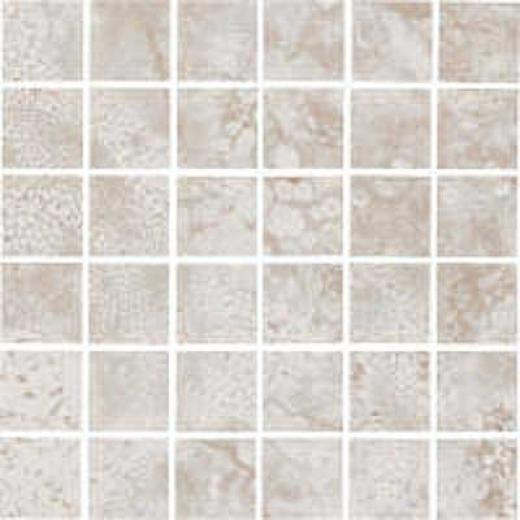 Florida Tile Caldera Mosaic Grey/white Tile & Stone