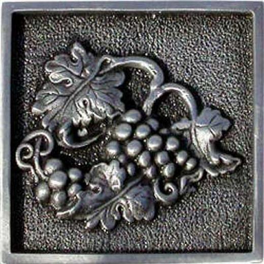 Florida Tile Metal Art Charm 2 X 2 Peewter Charm Tile & Stone